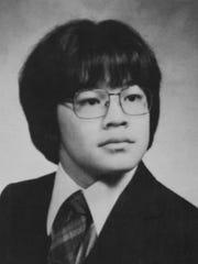 Albert Wang's yearbook photo