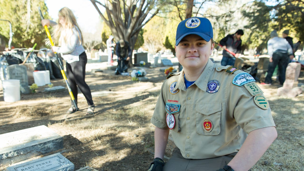 Gunnar Smith, 15, wanted to do something special for his Eagle Scout Service Project.
