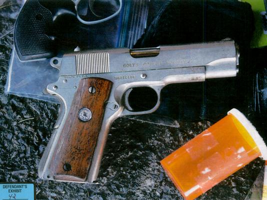 3-YDR-TL-.45 semi-automatic handgun