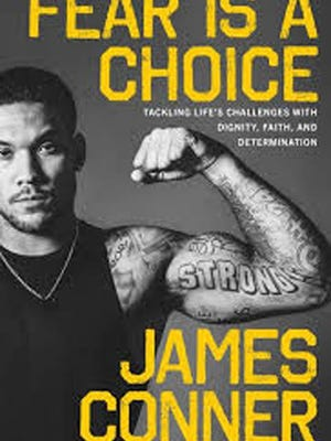 James Conner book: Fear Is A Choice