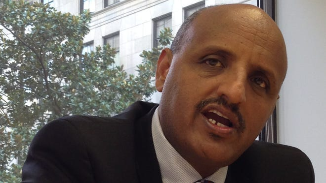 Ethiopian Airlines CEO Tewolde Gebremariam says plans call for flights from Addis Ababa to Los Angeles, through Dublin, by June 2015.