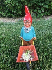 Tim Travis and his extensive collection of vintage gnomes are being featured in the January edition of Country Gardens Magazine.