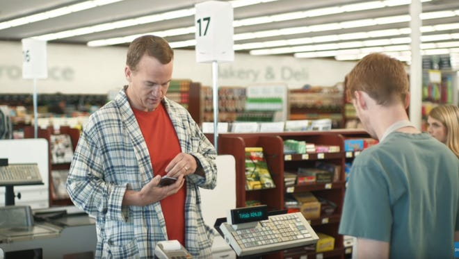"""Peyton Manning stars in a new ad campaign for DirecTV: """"Peyton on Sunday Mornings."""""""