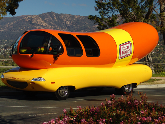 Kraft Heinz Foods Recalls 2 Million Pounds Of Turkey Bacon moreover Oscar Mayer Wienermobile Crashes Pennsylvania Article 1 moreover Girls Star Allison Williams Marries 825013 together with YRPrQOgDbk likewise Watch. on oscar mayer news