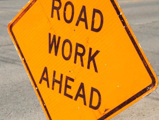File Image - Road Work Illustration