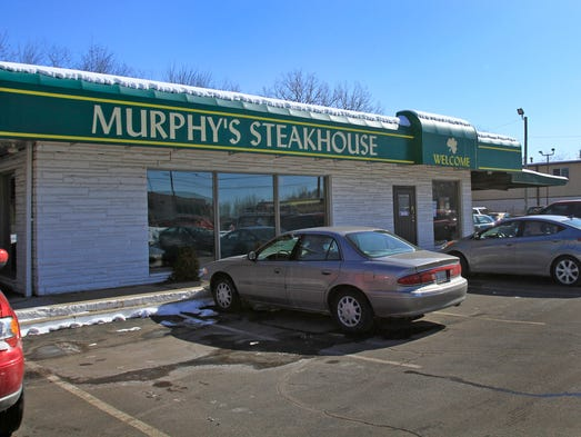 After 37 years at 4189 Keystone Ave., Indianapolis, Murphy's Steakhouse is preparing for its final day at its location Friday, Feb. 14, 2014. It will move to its new location, 5198 Allisonville Road, and merge with Pat Flynn's, reopening on Tuesday, Feb. 18, 2014.