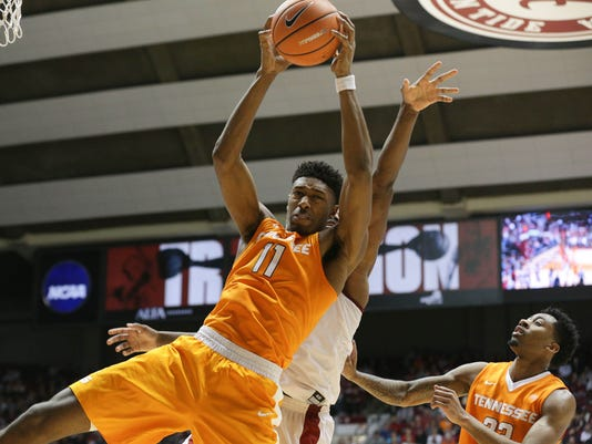 NCAA Basketball: Tennessee at Alabama