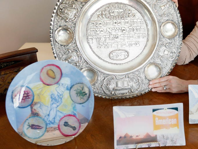 We talked to several local families who have a sentimental attachment to their Seder plates, viewing them as treasured heirlooms that make the holiday all the more meaningful. Passover begins at sundown on Monday.