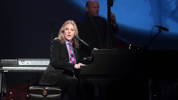 Diana Krall performs at The Grand in 2013.