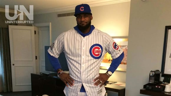 uk availability bd0b7 fb372 RJeff: LeBron's Cubs uniform is 'disgusting'