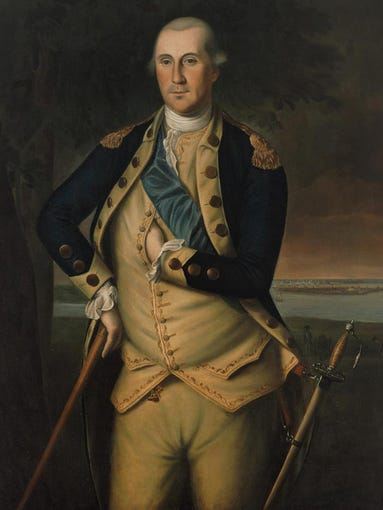 George Washington's net worth: $525 million. The website 24/7 Wall St. updated its list of wealthiest presidents this year. Net worth has been adjusted for inflation.