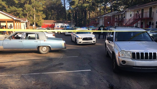 Jackson police are investigating a child who was struck by a vehicle at Northwood Village Apartments.