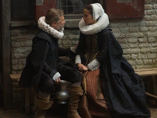 """Christoph Waltz and Alicia Vikander star in """"Tulip"""