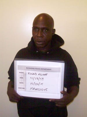 Ronald McGee, 56, of Richmond