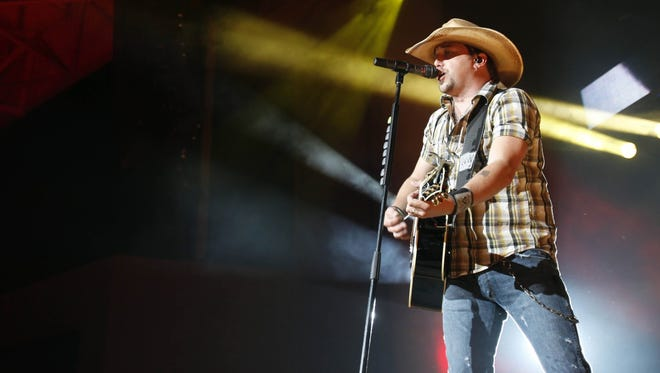 Jason Aldean was one the artists that made Indiana's Election Day playlist from Spotify.