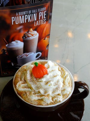 Indulge Dessert Lounge offers a seasonal pumpkin pie latte every fall.