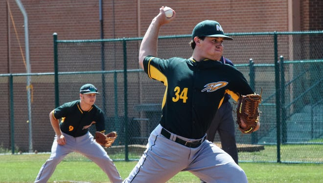 McNicholas' William King pitched a complete-game victory for the district title against Shawnee Saturday.