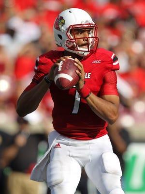 Freshman Reggie Bonnafon will start again Nov. 22 when Louisville plays at Notre Dame after U of L's final bye week.
