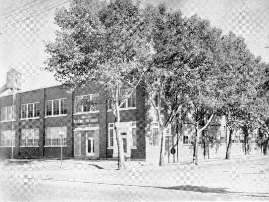The Muncie Trade School was busy from 1940 to 1973.