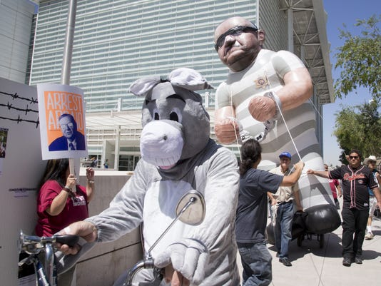 Sheriff Joe Arpaio protesters