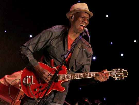 Three-time Grammy winner Keb' Mo' performs Tuesday,