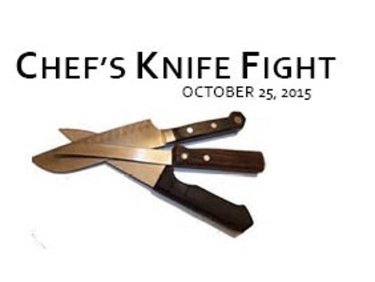 Chef's Knife Fight logo