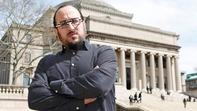 Lipa Schmeltzer, a 38-year-old Hasidic pop star who left his New Square roots to pursue a secular education, now find the Columbia University library among his stops as he pursues his undergraduate degree.