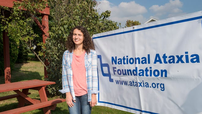 Madison Ford poses for a photo on Thursday, Oct. 6, 2016. Ford held a fundraiser event for the Ataxia Foundation on Oct. 2, 2016 at Norlo Park.