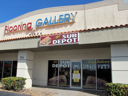 The Sub Depot is targeted to open in early February in the Flooring Gallery Plaza on the east side of Airport-Pulling Road south of Enterprise Avenue and just north of the Acura auto dealership in East Naples.