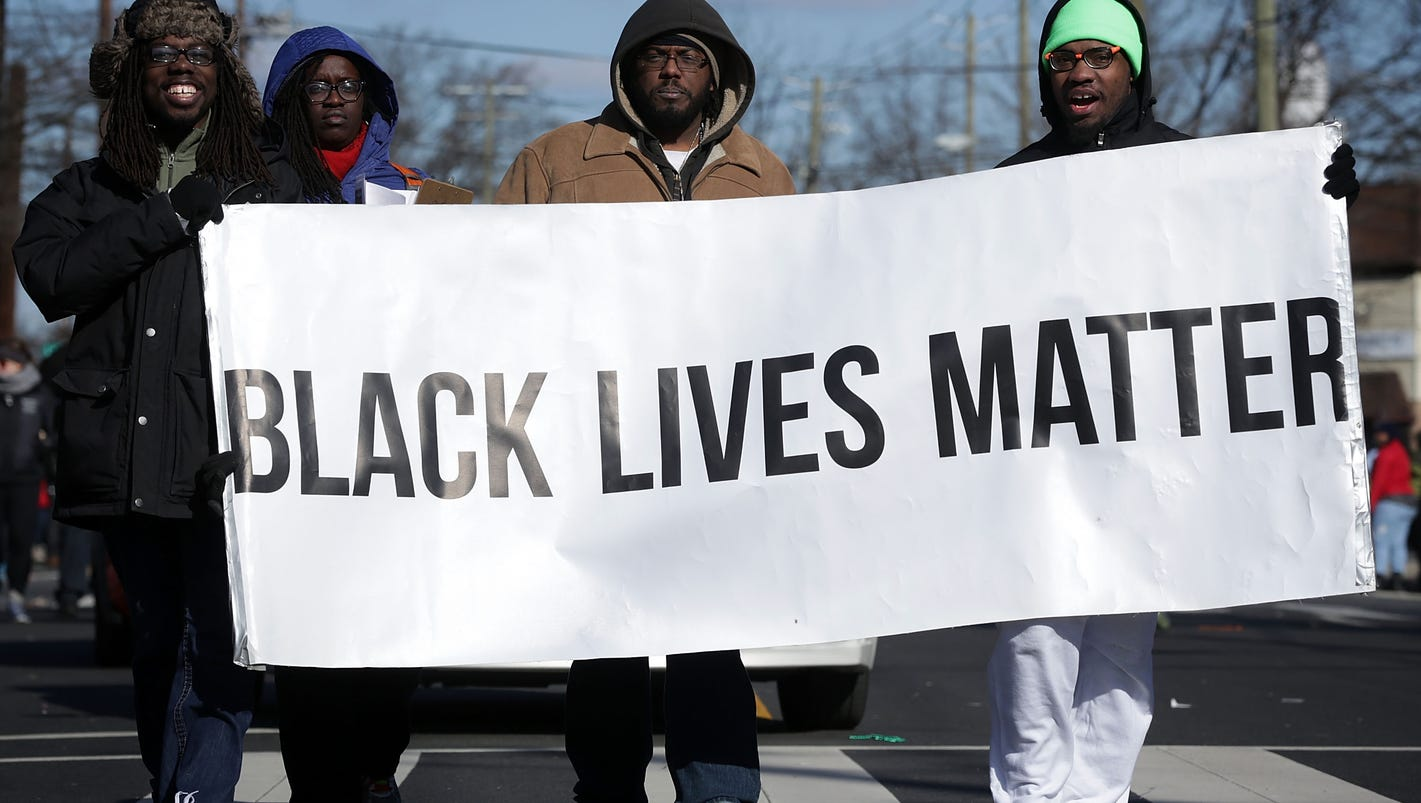 blacklivesmatter deeply connects to black power movement