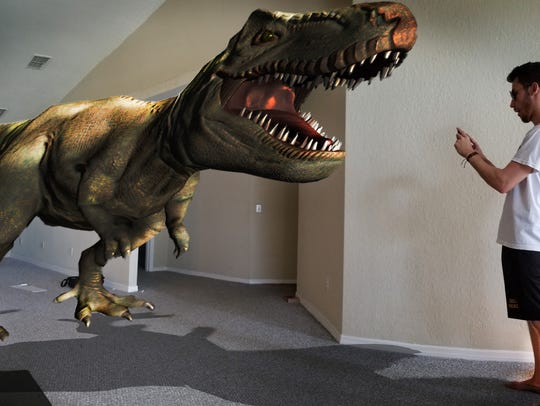 """A publicity image for the """"Augmented Reality"""" exhibit"""