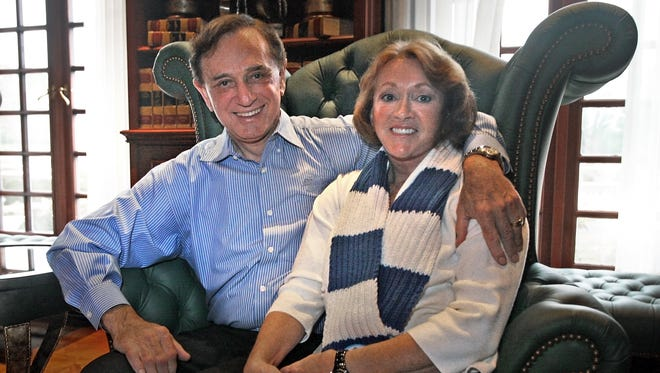 """Forrest and Charlotte Lucas, shown in 2012, are the subject of the upcoming documentary """"American Real: The Forrest Lucas Story,"""" premiering next Saturday (Oct. 18)  at AMC Traders Point 12."""