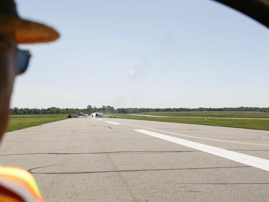 Mock Disaster Drill at Capital Region International Airport
