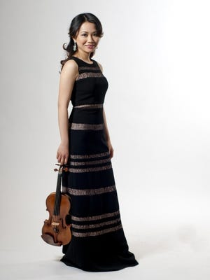 Violinist Luosha Fang will be featuring during the Bay Atlantic Symphony's upcoming concerts in Vineland and Galloway.