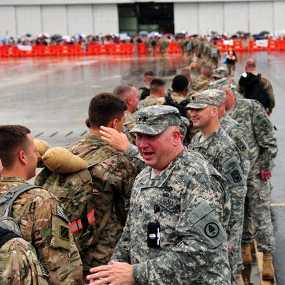 Tennessee National Guard Adj. Gen. Max Haston welcomed