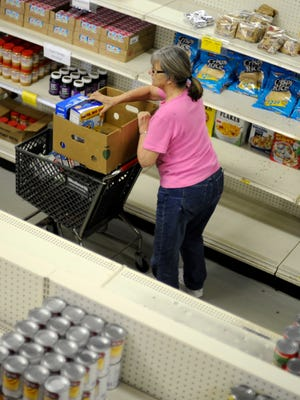 Your donations to our Stock the Shelves campaign will go directly to local food pantries, providing food for needy families.