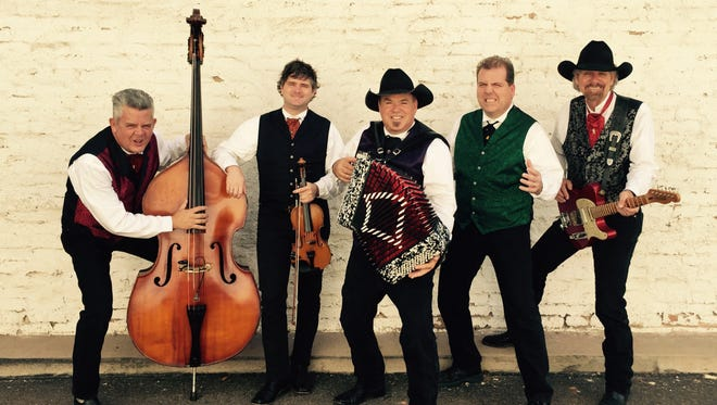 The Doo-Wah Riders play a mixture of country and Cajun/zydeco.  The group, which formed in California about 40 years ago, will perform at Centenary Stage Co. in Hackettstown tomorrow, July 22.