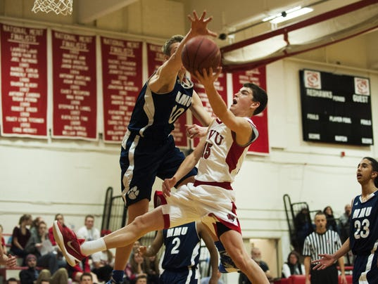 MMU vs. CVU Boys Basketball 01/21/16