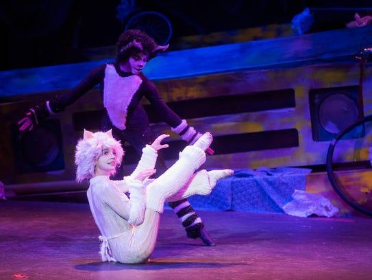 Pensacola Little Theatre's cast of Andrew Lloyd Webber's