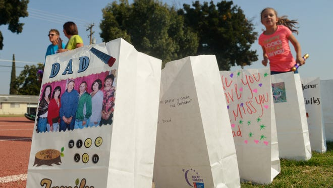Tulare Relay For Life held at Tulare Western for the first time.
