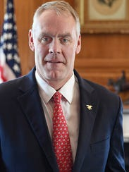 U.S. Interior Secretary Ryan Zinke