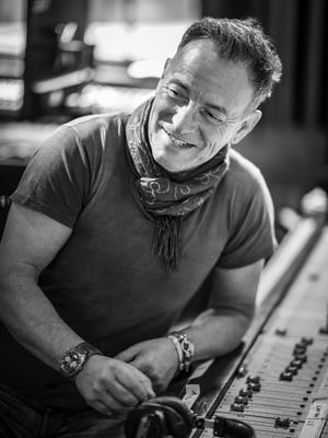 """A scene from """"Bruce Springsteen's Letter to You."""""""