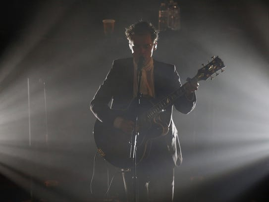 Harry Styles performs at The Ryman Auditorium, Monday,