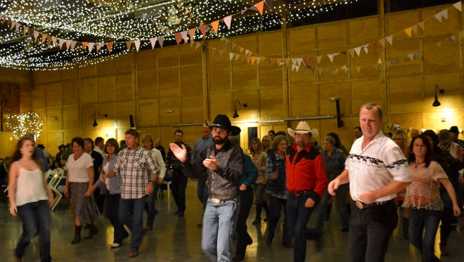 There's no experience needed to participate in the Barn Dance at The Oregon Garden on Oct. 24. Line dance lessons will be given as part of admission.