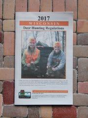 The 2017 Wisconsin Deer Hunting Regulation pamphlet.