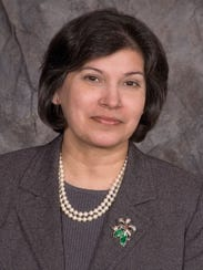 Barbara Quijano Decker, president of Mercy College