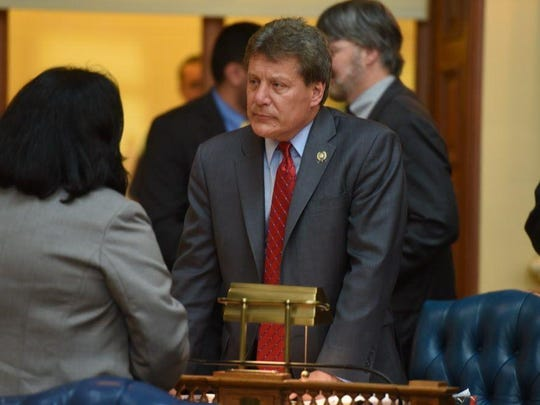 Assemblyman John McKeon (D-Essex) during a voting session last year.