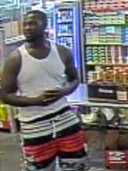 Suspect sought in counterfeit currency use at a North