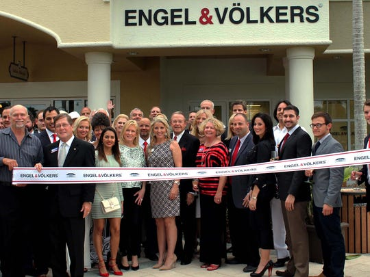 The Bonita Springs Area Chamber of Commerce held a ribbon-cutting for Engel & Volkers to celebrate the opening of their new location in Bonita Springs.