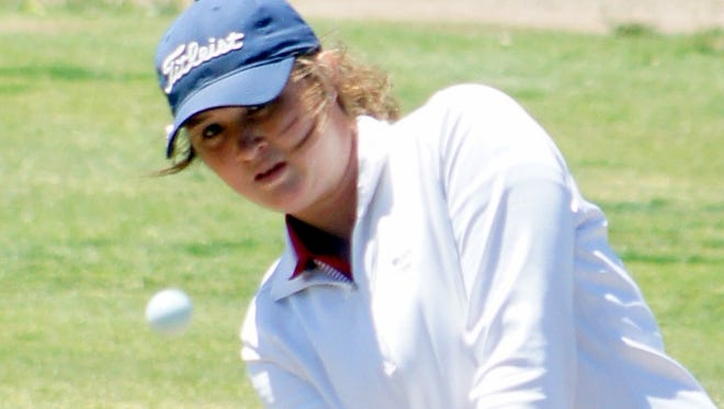 Eighth grader Presley Jackson led the Lady Cats to the Class 6A State Golf Tournament in Albuquerque.